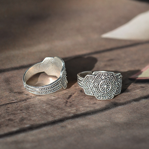 Fantasia Ring Silberring